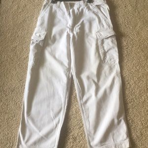 Gap khaki cargo pants